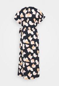 Monki - ENLIE WRAP DRESS - Kjole - bordeaux - 1