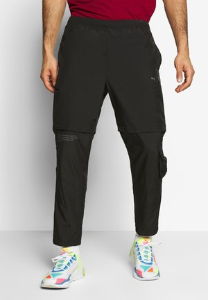 FIRST MILE 2IN1 PANT - Tracksuit bottoms - black
