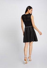 Morgan - Jumper dress - black - 2