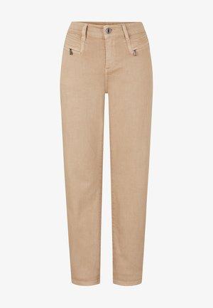 Straight leg jeans - caramel