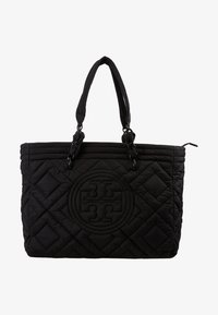 Tory Burch - FLEMING QUILTED TOTE - Tote bag - black - 5