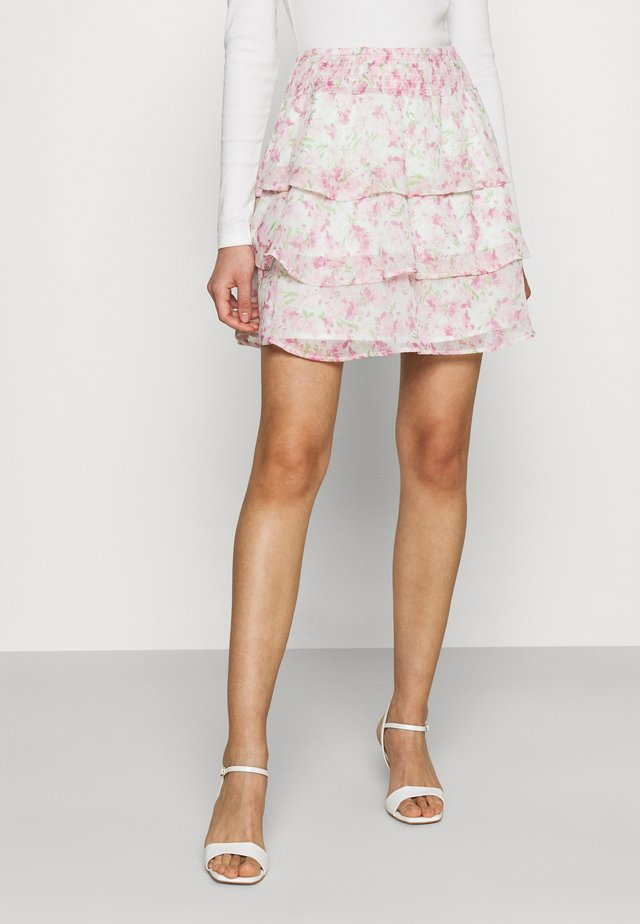 EXCLUSIVE ARCHER FRILL SKIRT - Mini skirts  - spring garden