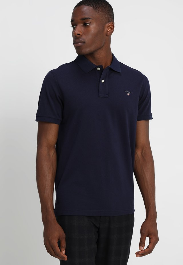 THE ORIGINAL RUGGER - Polo shirt - evening blue