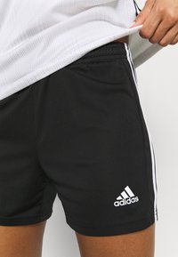adidas Performance - SQUADRA - Träningsshorts - black/white - 5