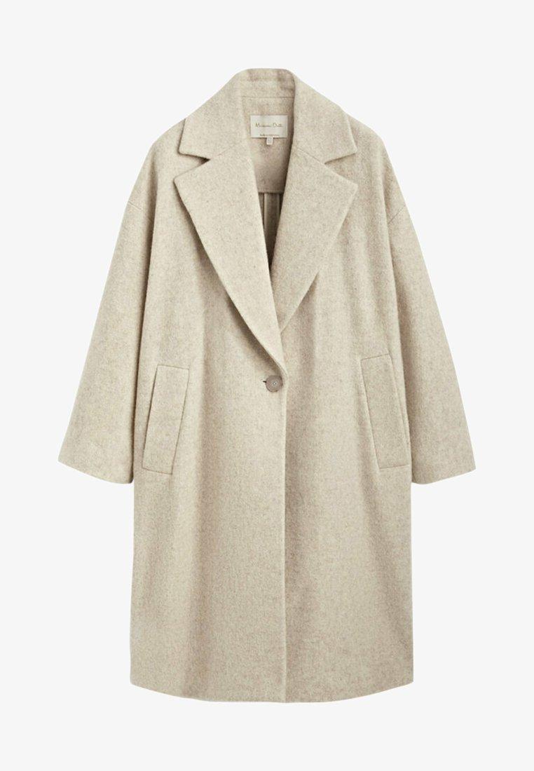 Massimo Dutti - Classic coat - beige