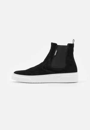 CHELSEY NORSE ELASTIC BANDS FOR COMFORTABLE - High-top trainers - black