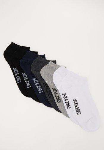 JACMIX SOLID SHORT SOCK 7 PACK - Socks - black/white