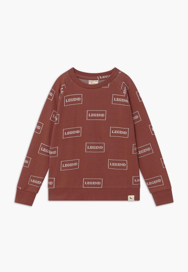Turtledove - LEGEND - Sweatshirt - brick