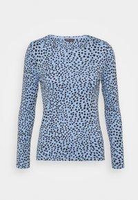 Marks & Spencer London - CHEETAH - Langærmede T-shirts - light blue - 3