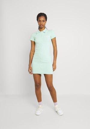 SEAN JOHN X MG ZIP THROUGH MINI DRESS - Day dress - green