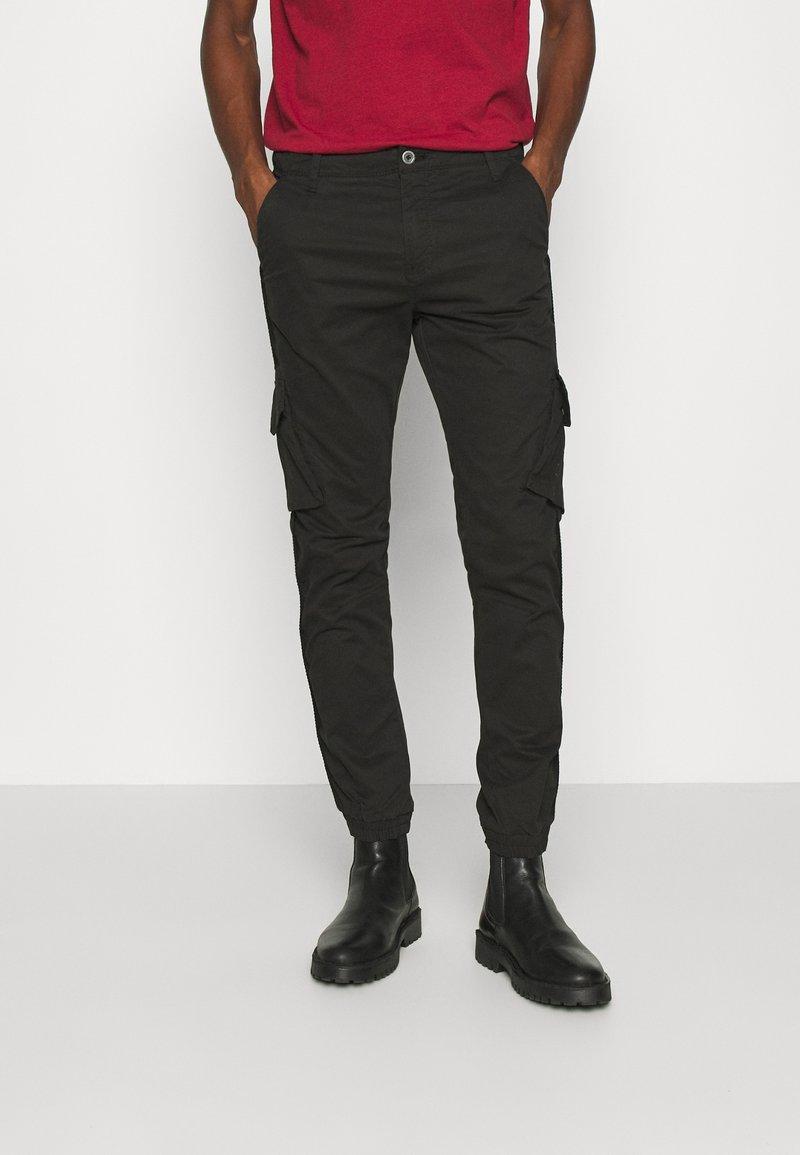 Teddy Smith - BATTLE  - Cargo trousers - noir
