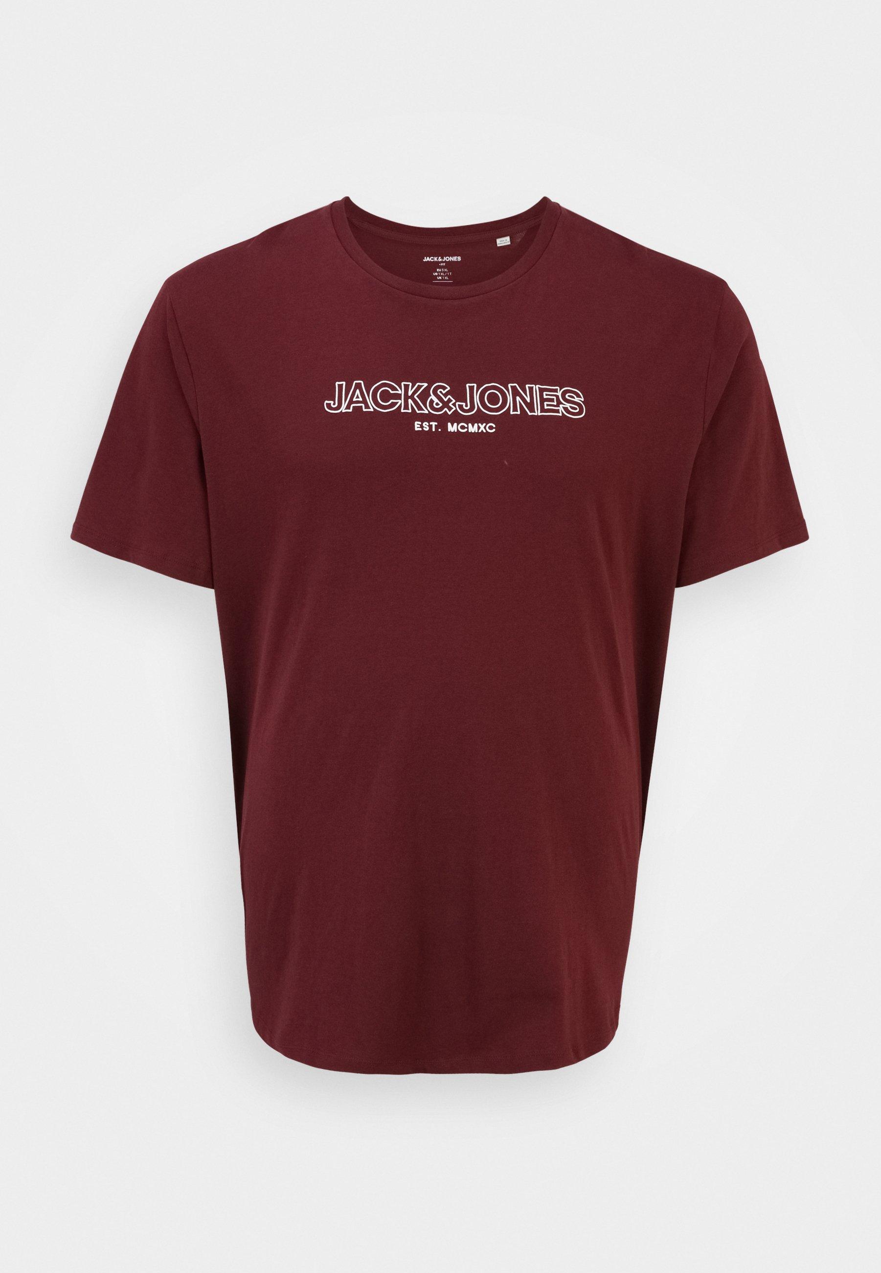 Herren JJBANK TEE CREW NECK  - T-Shirt print
