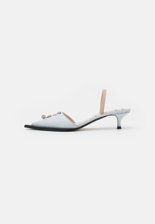 SLINGBACK - Klassiske pumps - white