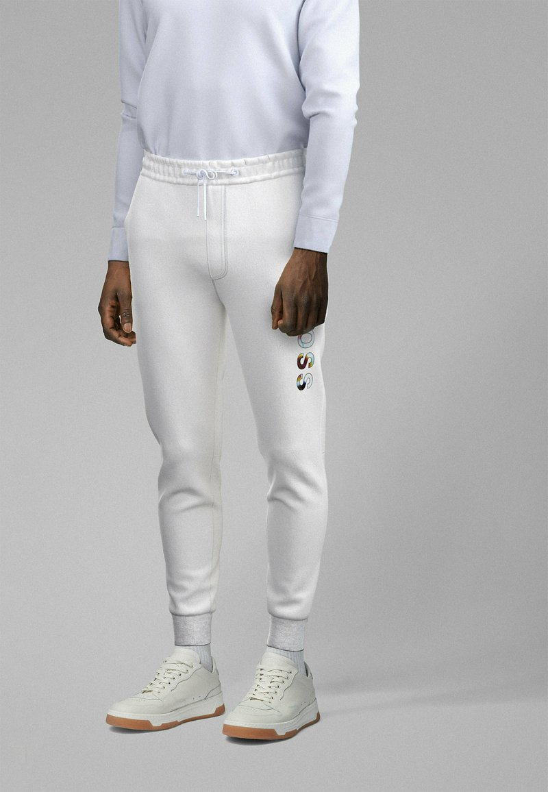 BOSS - Pantalon de survêtement - white