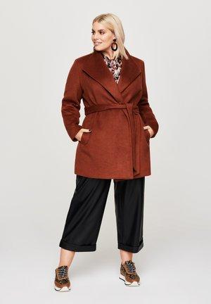 EDLER - Short coat - braun