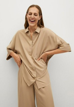 MOMO - Button-down blouse - beige