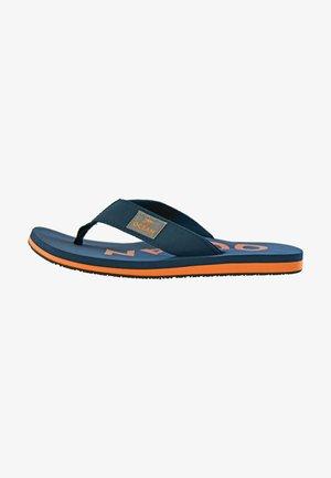 T-bar sandals - dunkelblau