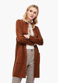s.Oliver - Cardigan - brown melange - 5