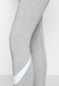 Nike Sportswear - Leggings - grey heather/white - 4