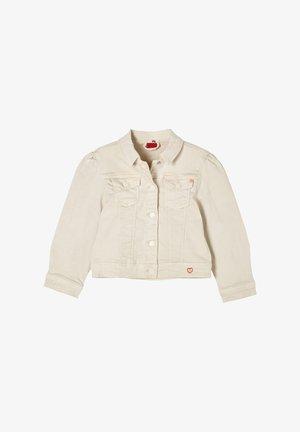 Denim jacket - beige