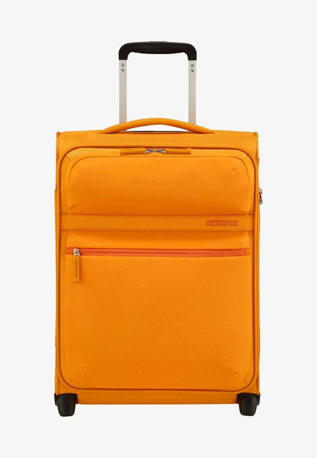 MIT 2 ROLLEN - Wheeled suitcase - popcorn yellow