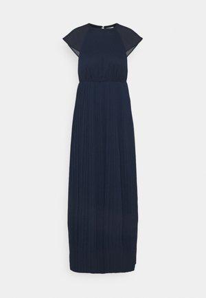 VIKALINA PLISSE DRESS - Maxi dress - navy blazer