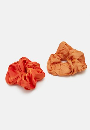 SCRUNCHIE 2 PACK - Hair Styling Accessory - orange/ochre