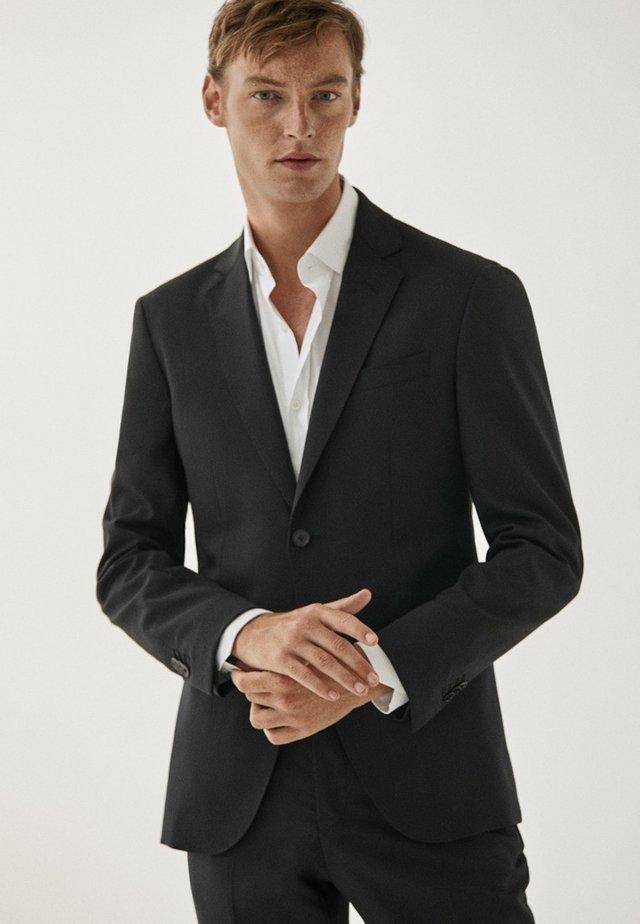 SLIM-FIT - Veste de costume - black