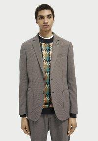 Scotch & Soda - Blazer jacket - brown - 0