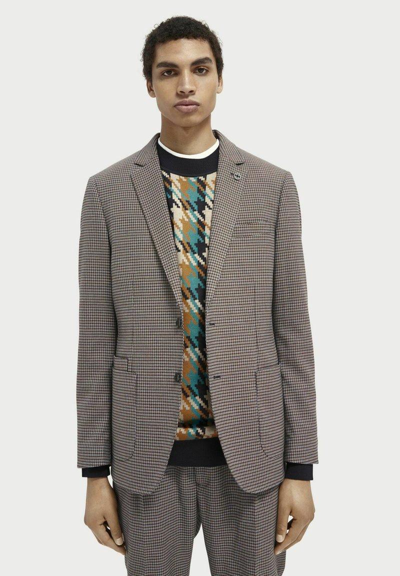 Scotch & Soda - Blazer jacket - brown