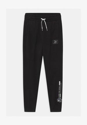 SEGA UNISEX - Pantalones deportivos - black