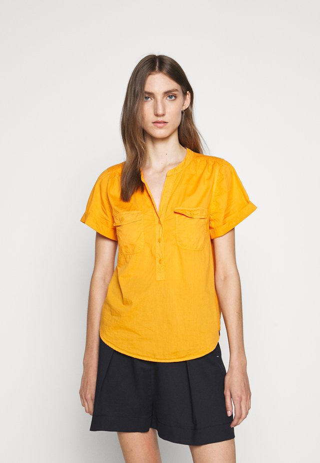 SLEEVELESS STORM - Blouse - orange slice
