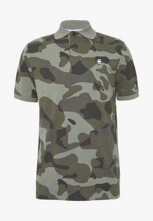 CAMO - Polo shirt - olive/black