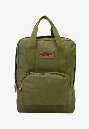 BEST WAY BACKPACK - School bag - olive green
