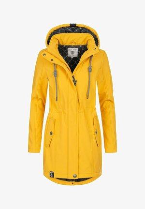 Waterproof jacket - gelb21