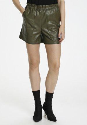 CUMELISSA - Shorts - burnt olive
