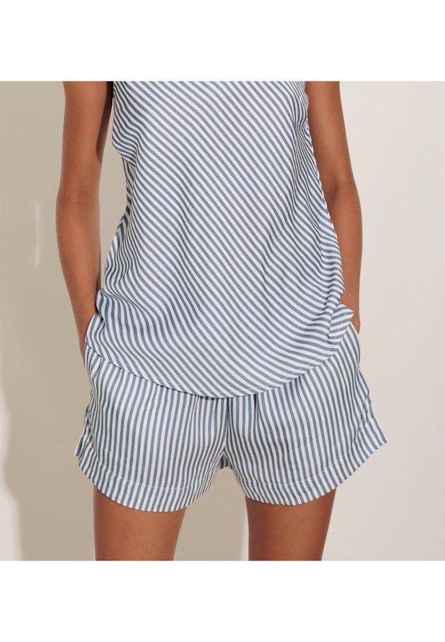 SAGA  - Pyjamahousut/-shortsit - blue
