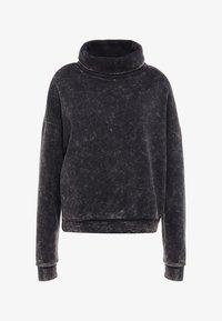 Reebok - OVERSIZED COVER UP - Sweater - black - 4