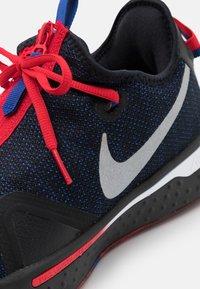 Nike Performance - PG 4 - Basketbalové boty - black/metallic silver/rush blue/university red - 5