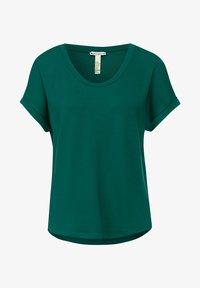 Street One - T-shirt basic - grün - 3