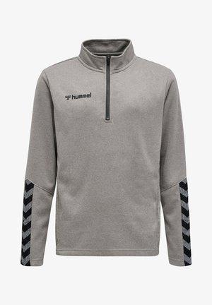 HMLAUTHENTIC - Sweater - grey melange