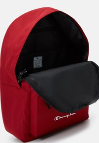 Champion - LEGACY BACKPACK - Rucksack - dark red/black - 4