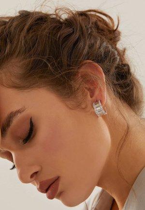ROUND HARMONY - Earrings - silber