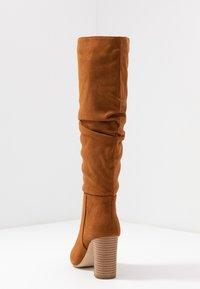 New Look - DEXTER - Kozačky na vysokém podpatku - tan - 5