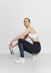 adidas Performance - Legginsy - dark blue - 1