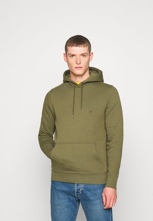 BASIC FLAG HOODY - Bluza z kapturem - green