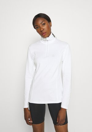 MIDLAYER TURTLE TRANSTEX - Long sleeved top - white