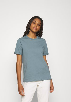 PCRIA FOLD UP SOLID TEE - T-shirt basic - trooper