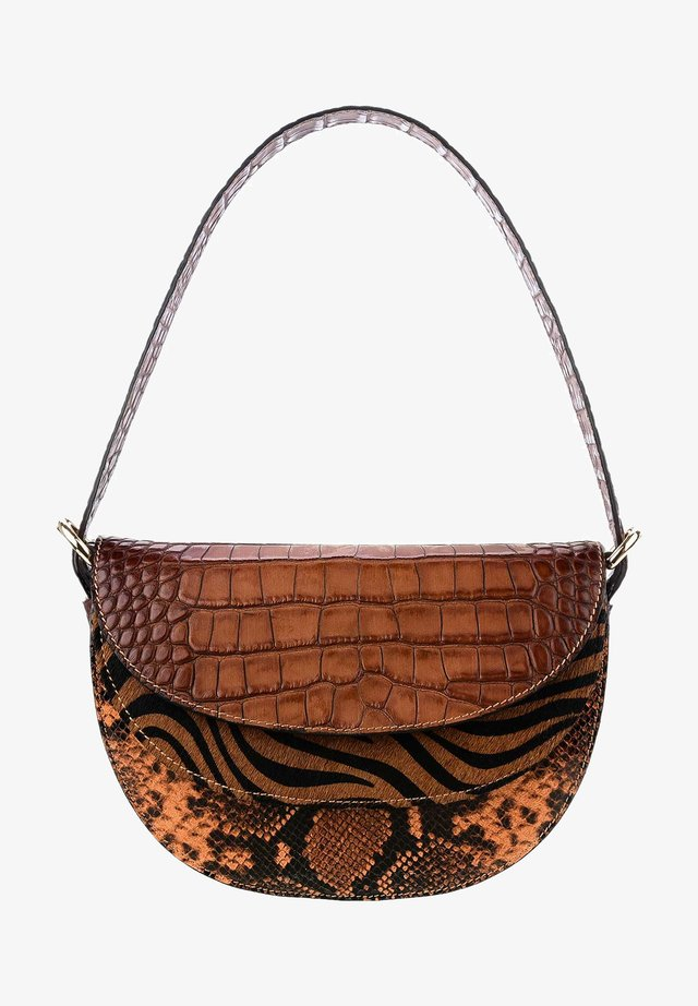 BISENZIO - Handtasche - brązowy