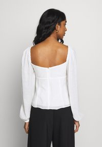The East Order - PEARL TOP - Bluser - white - 2